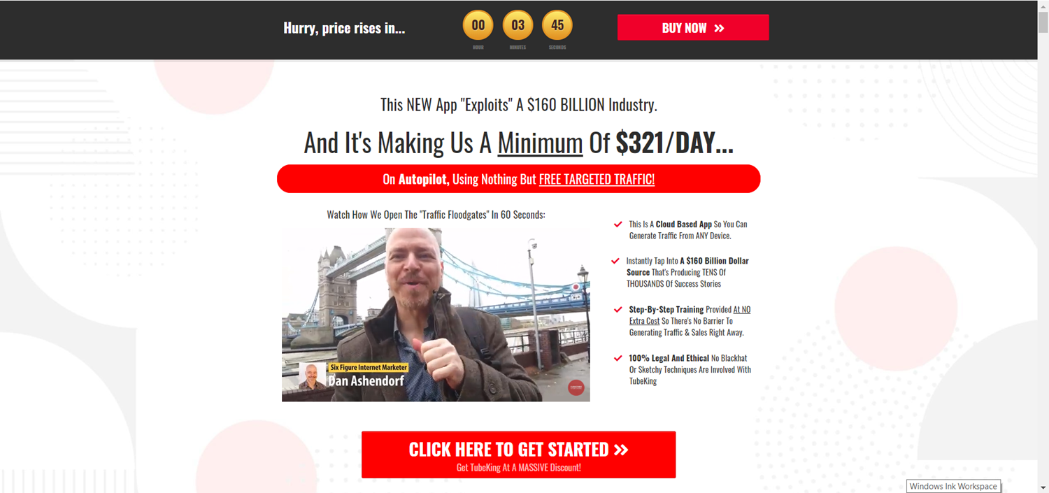 Can You Really Make $321 A Day… With Easy FREE Traffic… In Just A Few Clicks?