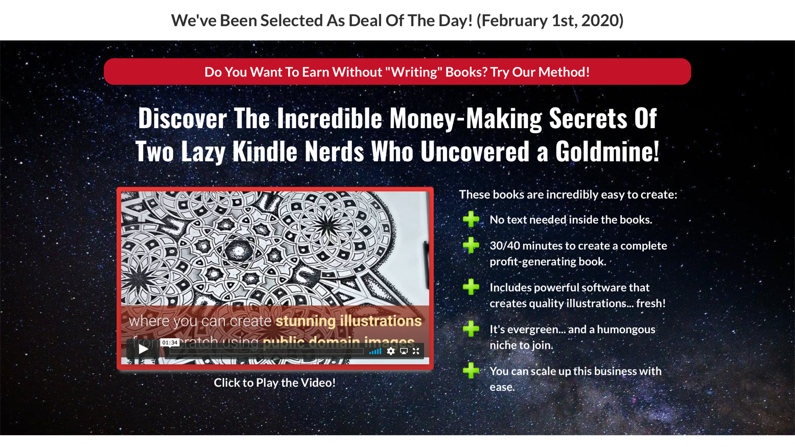 $26,400 Per Month … With Coloring Books?